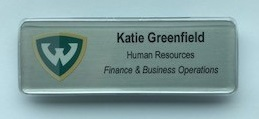 Image of Sample Name Badge